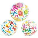 ビーチボール かわいい 海 プール 海水浴 ボール レジャー コンパクト キャンプ 川 送料無料
