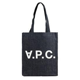 アーペーセー A.P.C. トートバッグ m61445-iai   トート ショルダー バッグ バック かばん 鞄 通勤 A4 肩掛け オシャレ おしゃれ かわいい 可愛い 男女兼用 ユニセックス ブランド コットン 綿 エコ エコバッグ シンプル 大きい APC ロゴ