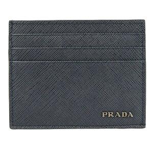 プラダ PRADA カードケース メンズ アウトレット 2mc223sabi-bane-zz | 定期入れ ICカード カード入れ 名刺入れ スリム 薄い キャッシュレス ミニ 小さい かっこいい おしゃれ オシャレ ブランド レザ