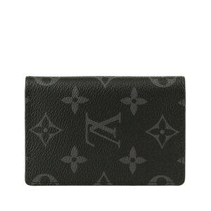 ルイヴィトン LOUIS VUITTON ショップ袋付き カードケース メンズ m61696 | 定期入れ パスケース ICカード カード入れ モノグラム 名刺入れ かっこいい ビジネス おしゃれ オシャレ ブランド ルイ