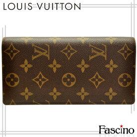 ルイヴィトン 財布 LOUIS VUITTON LV 二つ折り財布 「ポルトフォイユ・ブラザ」 モノグラム モノグラムキャンバス m66540 メンズ