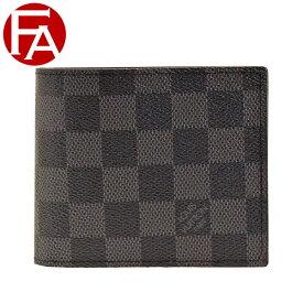 ルイヴィトン LOUIS VUITTON ショップ袋付き 二つ折り財布 LV メンズ n63336 | ウォレット サイフ さいふ 財布 小銭入れ カード 収納 かっこいい おしゃれ オシャレ コンパクト 使いやすい ブランド ルイ ヴィトン ルイビトン
