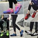 ランニングシューズ メンズ レディース スポーツシューズ スニーカー ウォーキング 運動靴 靴 靴紐 軽量 クッション性…