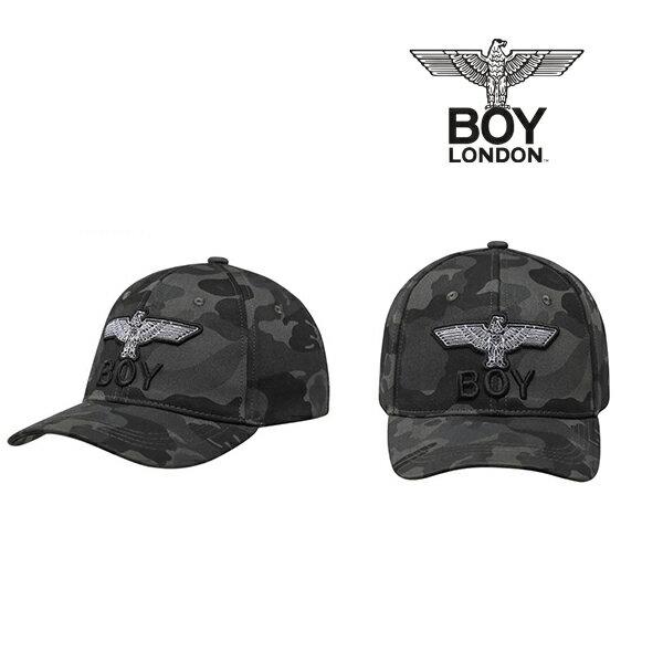 【BOY LONDON 日本公式販売店】BOY Eagle Logo Ballcap - CAMO EAGLE CAP - BLACK BH5CP105 メンズ カジュアル 男性 メンズファッション