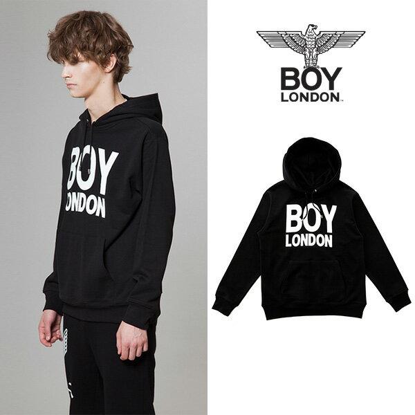 【BOY LONDON 日本公式販売店】BOYLONDON Printed on Pocket Hoodie - BLACK BG3HD031ABK メンズ カジュアル 男性 メンズファッション