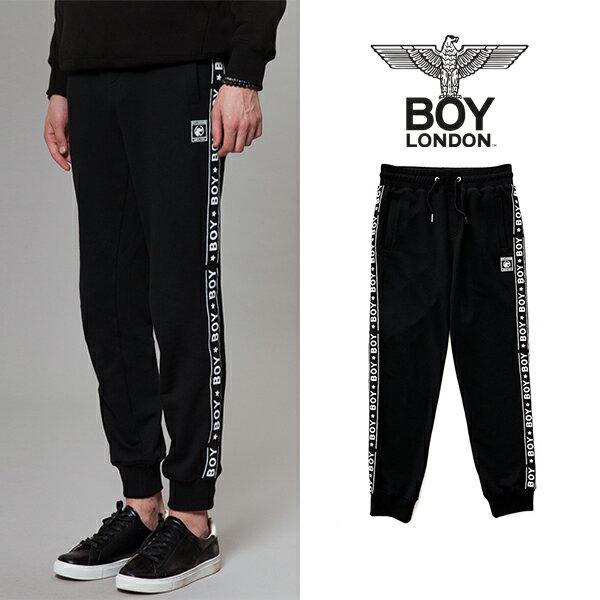 【BOY LONDON 日本公式販売店】BOY Logo Taped Detailed Jogger -BLACK BG3PL043 メンズ カジュアル 男性 メンズファッション 送料無料