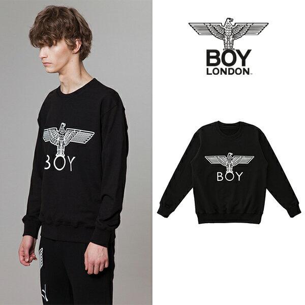 【BOY LONDON 日本公式販売店】Black Eagle BOY Printed Sweatshirt -BLACK BG3TL014ABK メンズ カジュアル 男性 メンズファッション 送料無料