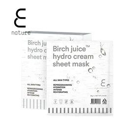 ※あす楽対象【ENATURE 日本公式サイト】バーチジュースハイドロクリームシートマスク 28gx10枚 20003041