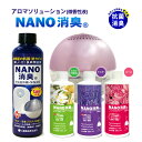 NANO消臭 アロマソリューション 微香性 香りを楽しみ 抗ウイルス 抗菌 ダブル除菌 加湿器 アロマディフーザーに   …