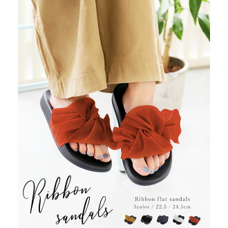 f89dfaa6424 A ribbon sandals sandals Lady s walk breathe  trip sandals Lady s sandals  sandals slippers Lady s frill ribbon foot Bet sandals comfort resort shoes  shoes ...