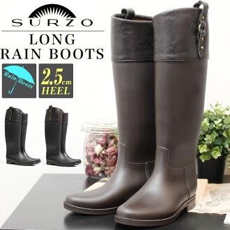 FashionLetter | Rakuten Global Market: SURZO long rain boots ...