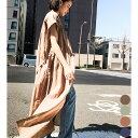 シャツワンピース ワンピース ワンピ シャツ 羽織り ライトアウター 半袖 ゆったり 袖あり スプリングコート スプリングアウター カーディガン コットン 綿 ベルト付き 前開き ママ おしゃれ 韓国