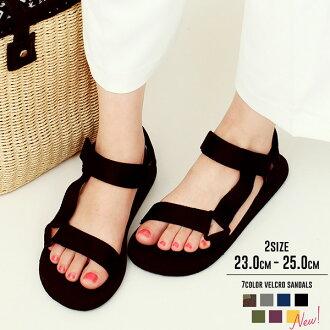 妇女运动凉鞋步行沙滩凉鞋时尚黑色白色运动凉鞋男式舒适凉鞋 eva 大尺寸宽扁魔术贴经纪人