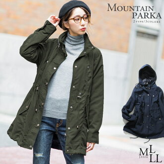 2013 2013 coat outer coat shirring Mods coat Lady's outer jacket military coat coat Lady's many functions レディスレデイース 2013aw fall and winter