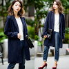 Chester court ladies clothing winter Chester coat long coat autumn clothes winter wear her grey camel khaki charcoal Navy black solid long length coat women's knee-length 20s 30s 40s casual tasty