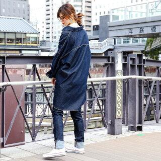 ビッグロングミリタリージャケットデニムジャケットレディースオーバーサイズジャケットビッグシルエットGジャンシャツアウタードロップショルダー大きいサイズ春服スプリングコートカジュアル韓国ファッション春カーキ黒FashionLetter送料無料