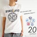 Tシャツ プリント ファッション トップス ヴィンテージ カジュアル オールドカレッジプリントアメカジ