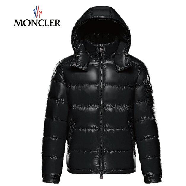 MONCLER モンクレール メンズ ダウンジャケット MAYA(マヤ) シャイニーブラック(999) 2017-2018年秋冬【送料無料】
