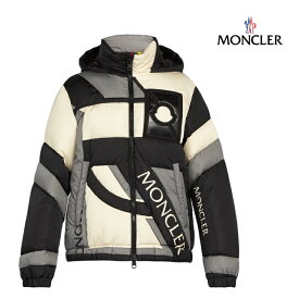 MONCLER モンクレール 5 MONCLER CRAIG GREEN Plunger hooded down-filled jacket ジャケット メンズ ブラック 2018-2019年秋冬新作