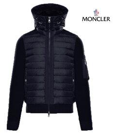 MONCLER モンクレール スウェット パーカー カーディガン メンズ ブルー 2018-2019年秋冬