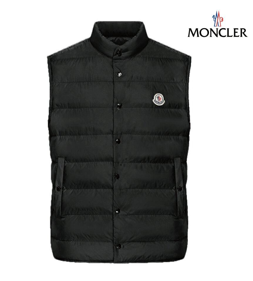 MONCLER モンクレール FEBE アウター ダウンベスト メンズ ブラック 2019年春夏新作
