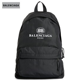 BALENCIAGAバレンシアガ2018年春夏Newロゴ刺繍Backpackブラック
