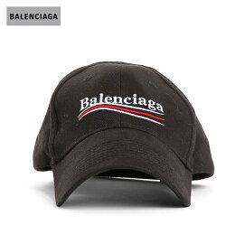 BALENCIAGAバレンシアガ2018年春夏キャンペーンロゴキャップブラック