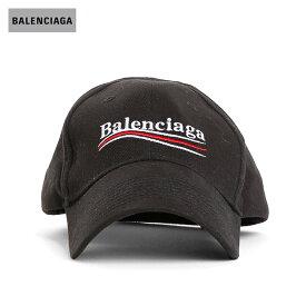 BALENCIAGA バレンシアガ 2018年春夏 POLITICAL LOGO CAP BLACK