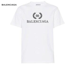 BALENCIAGA バレンシアガ 2018年春夏 Printed cotton T-shirt ホワイト