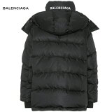 BALENCIAGAバレンシアガPufferjacketジャケットアウターブラック2018-2019年秋冬