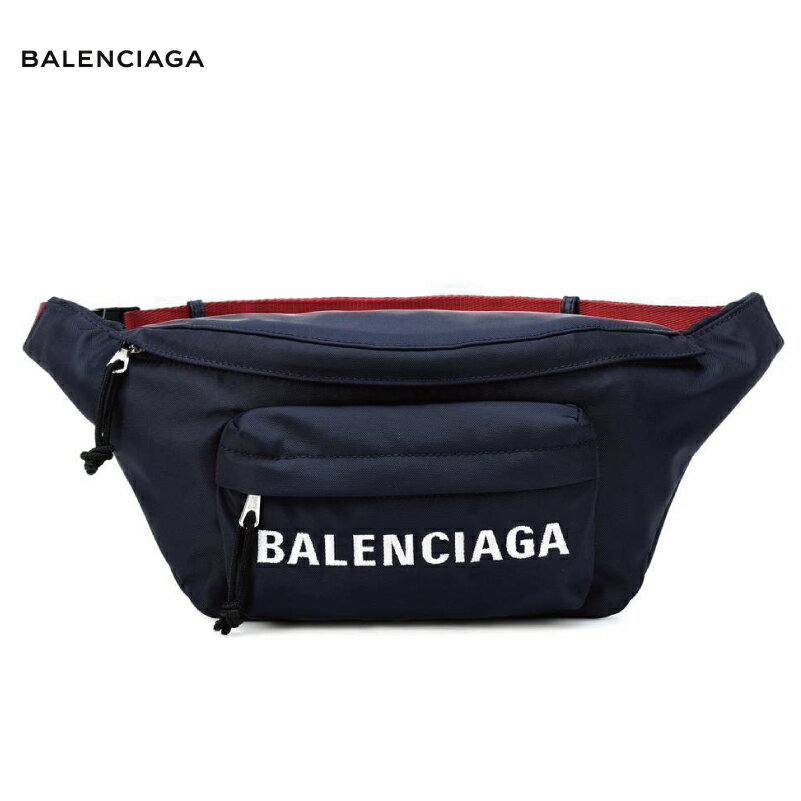 BALENCIAGA バレンシアガ Wheel belt bag バッグ ネイビー 2018-2019年秋冬