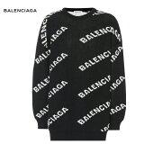 BALENCIAGAバレンシアガIntarsiawool-blendsweaterセータートップス2018-2019年秋冬