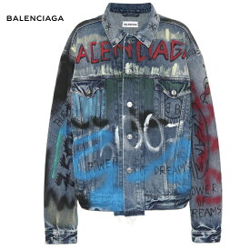 BALENCIAGA バレンシアガ Like a Man Logo denim jacket ジャケット トップス 2018-2019年秋冬