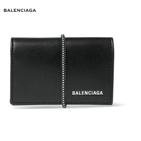 BALENCIAGA バレンシアガ Logo-Print Leather Cardholder カードホルダー カード入れ カードケース ブラック 2018-2019年秋冬