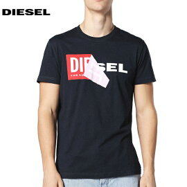 DIESELディーゼル2018年春夏T-DIEGO-QATシャツ・カットソーブラック00S02X0091B