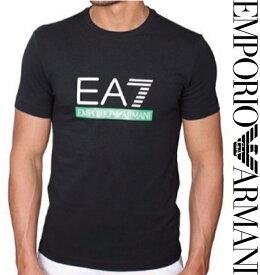 EMPORIO ARMANI 2015-2016年新作 メンズ Tシャツ エンポリオアルマーニ 273911 6P206 Tシャツ/半袖/Vネック ブラック EA7