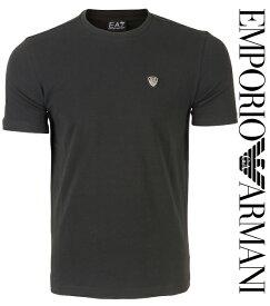 EMPORIO ARMANI エンポリオアルマーニ 2017年春夏新作 メンズ Tシャツ ロゴ ブラック EA7 イーエーセブン 3YPTL7 PJ20Z 1200