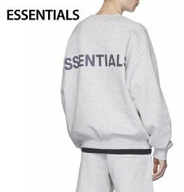 ESSENTIALS Reflective Pullover Sweat-shirt Mens Tops Gray 2020SS エッセンシャルズ リフレクティブ プルオーバー スウェットシャツ メンズ トップス グレー 2020年春夏新作