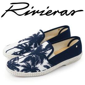 Rivieras リビエラ 2019年春夏 2019SS スリッポン メンズ レディース Palm Print パーム・プリント Honolulu