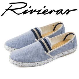 Rivieras リビエラ 2018年春夏 2018SS スリッポン メンズ レディース College Bluish