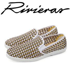 Rivieras リビエラ 2018年春夏 2018SS スリッポン メンズ レディース Collections London