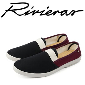 Rivieras リビエラ 2018年春夏 2018SS スリッポン メンズ レディース Collections Noir