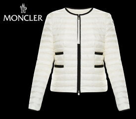 MONCLER BAILLET Ivoire Ivory Ladys Jacket Blouson Outer 2020SS モンクレール アイボリー レディース ジャケット ブルゾン アウター 2020年春夏