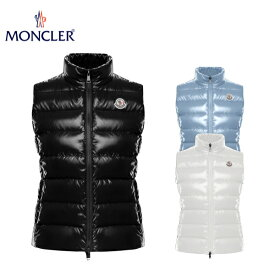【3colors】 MONCLER GHANY Down Vest Ladys Outer 2020AW モンクレール ガーニー ダウンベスト ジレ レディース アウター 2020-2021年秋冬