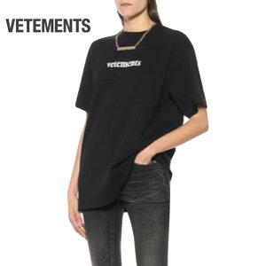 VETEMENTSヴェトモンオーバーサイズTシャツトップスレディースブラック2020SS