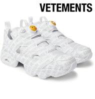50cbc55b4e8 Vetements ヴェトモン 2017-2018年秋冬新作 Reebok Logo Instapump Fury Sneakers スニーカー  シューズ