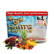 サムズプロテインアスリートミドルパワープロテインUP1kg(約40回分)リッチココア味/ミックスフルーツ味