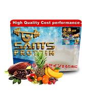 サムズプロテインアスリート水泳選手瞬発力パワープロテインUP1kg(約40回分)リッチココア味/ミックスフルーツ味