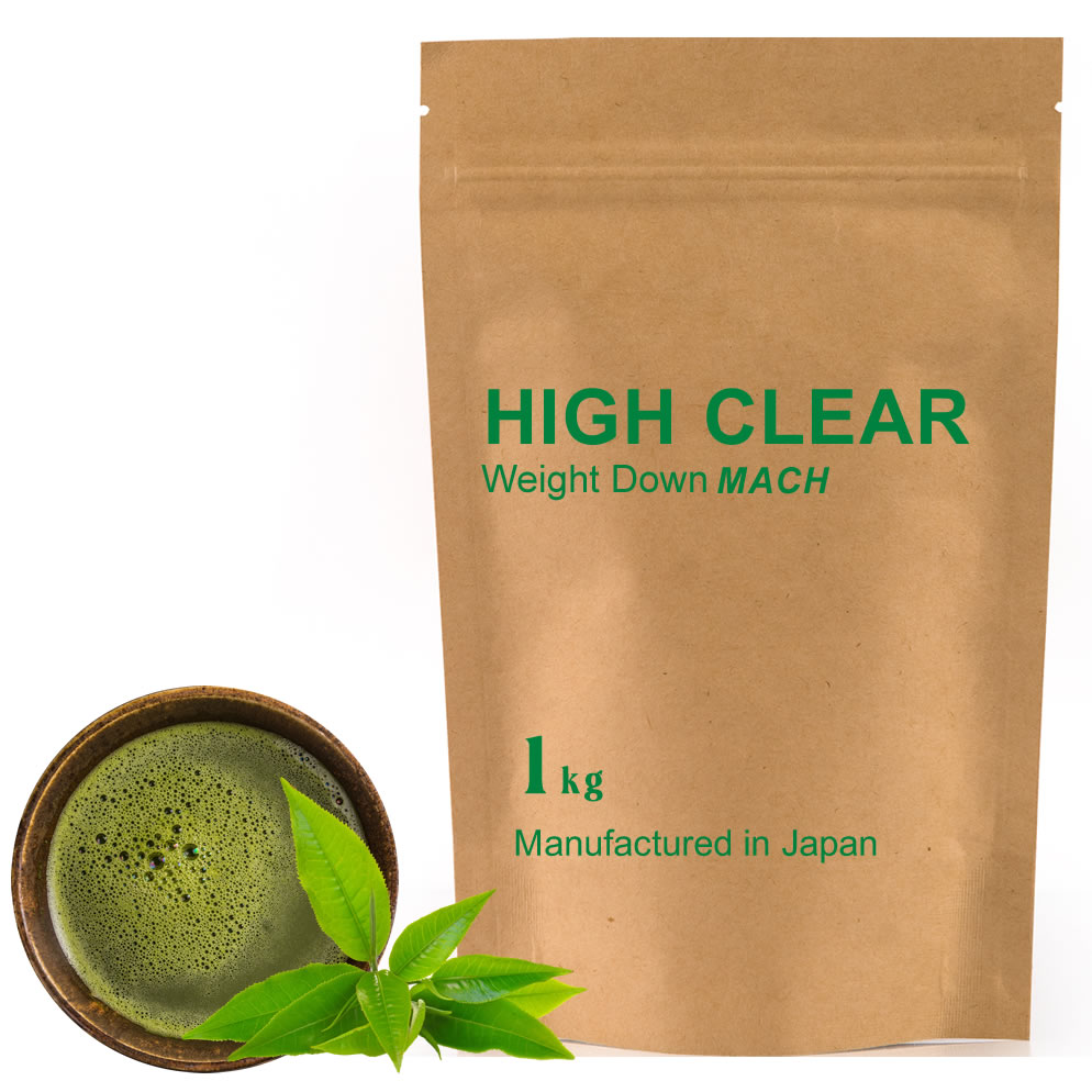 HIGH CLEAR ハイクリアー ウェイトダウンマッハプロテイン 本格抹茶味 1kg(約40回分)