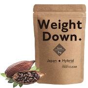 HIGHCLEARハイクリアーウェイトダウンプロテインプレミアム1kg(約40回分)ココア風味HI2D003